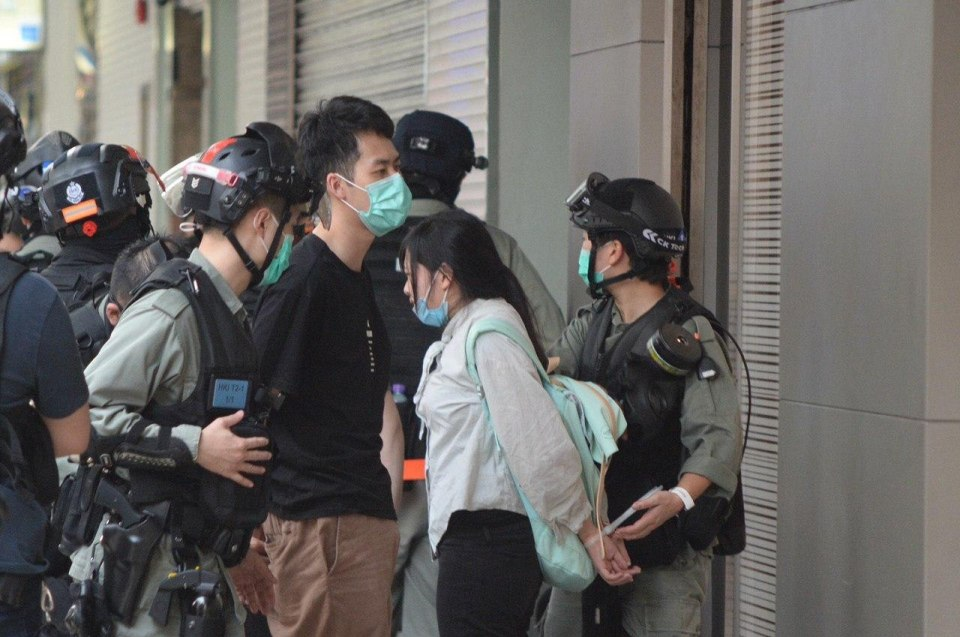 arrest causeway bay may 24 2020
