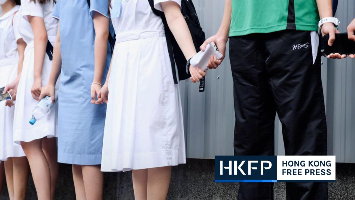 student human chain