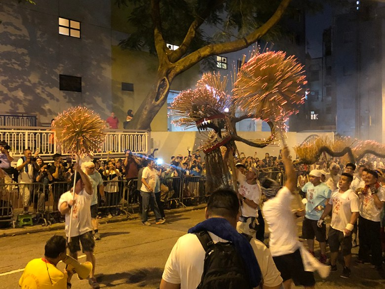 national security office tai hang fire dragon dance