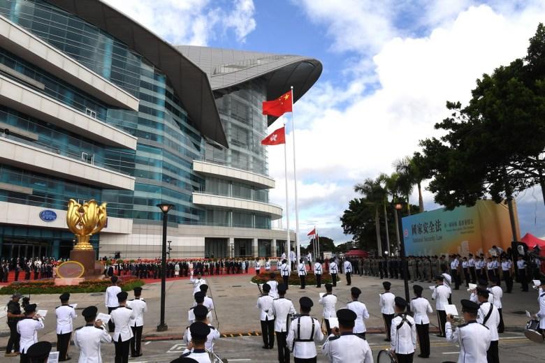 Hong Kong China handover July 1, 2020