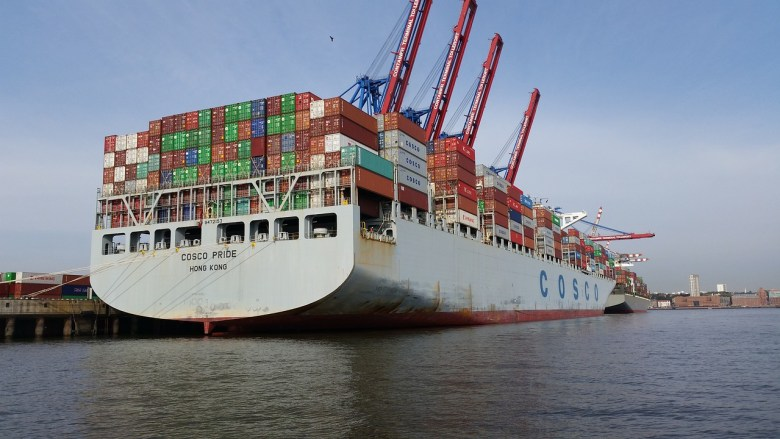 Exports port shipment trade