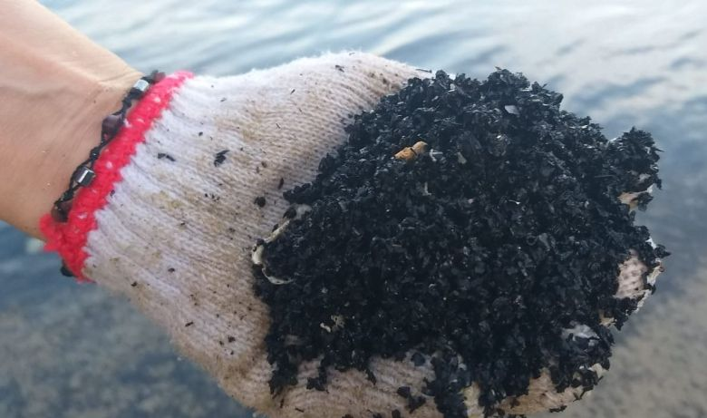 discovery bay rubber crumbs