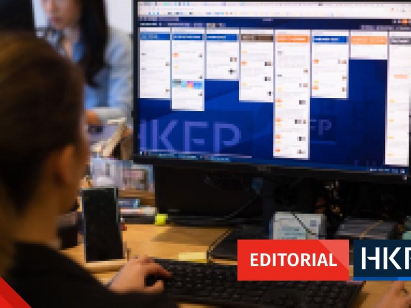 editorial hong kong press freedom