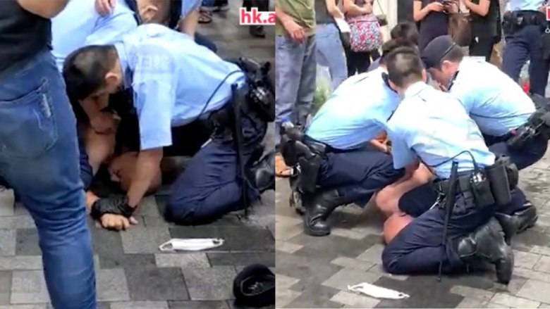 police arrest chokehold