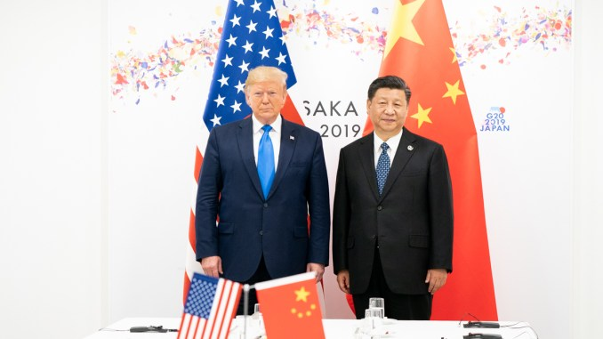 US China Trump Xi Jinping