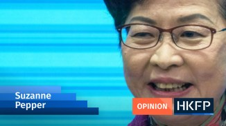 The knives are out for Hong Kong's Carrie Lam as her turbulent first term enters its final months | Hong Kong Free Press HKFP