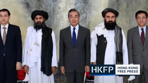 china taliban