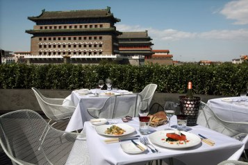 Capital M plus belle terrasse de Pékin