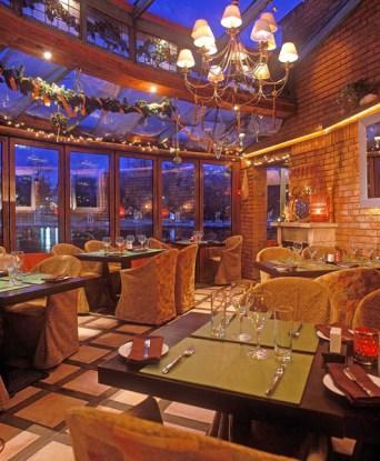 Robinson restaurant Budapest