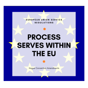 Process Serves within the European Union