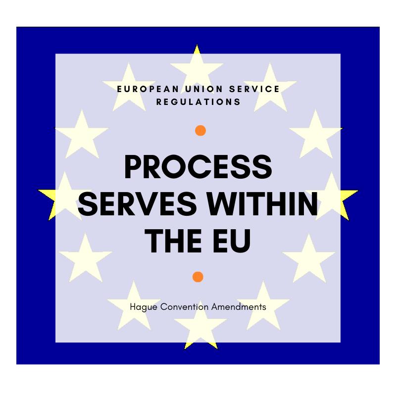 Process Serves within the European Union