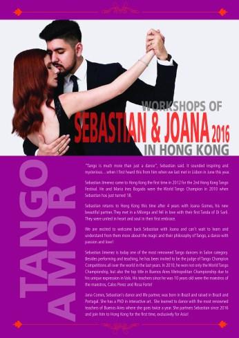 Seba & Joana Registration form cover 2016