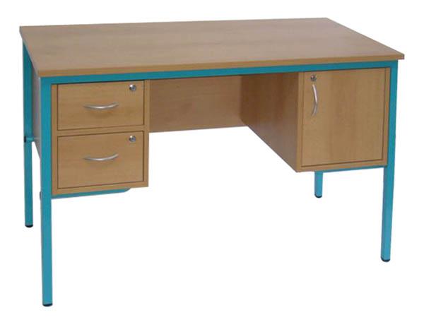 bureaux professeurs 2 tiroirs et 1 armoirette