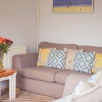 Manorcombe Bungalows living space