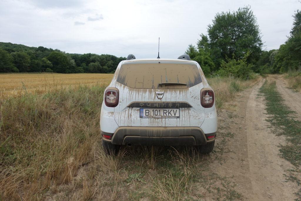 Staubige Strassen in der Dobrusha