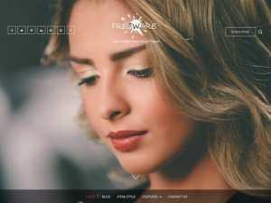 WordPress sablon letöltés ingyen - Freeware screenshot kép