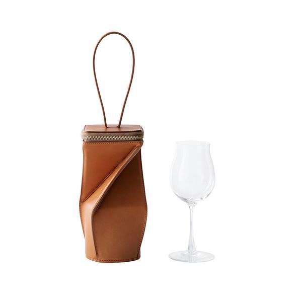 土屋鞄_コラボ_ワイングラス&バッグ_HaGu