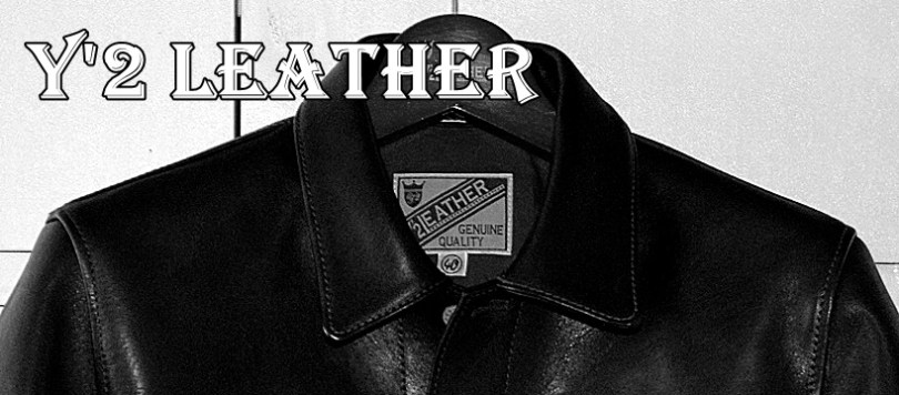 Y'2 LEATHER(ワイツーレザー)