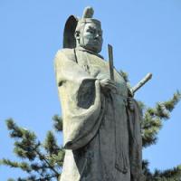 神奈川奉行所跡と井伊直弼像