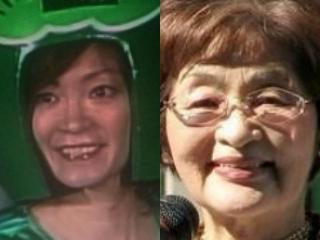 松本秋子と松本直美の顔画像