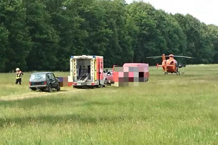 Segelflugzeug in Eudenbach abgestürzt