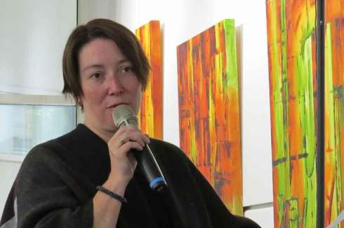 Museumspädagogin Irina Wistoff