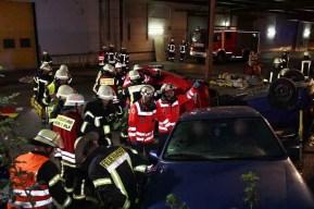 Gemeinsame Uebung 4 - Rettungskräfte Rheinbreitbach und Bad Honnef: Gemeinsam sind wir stark