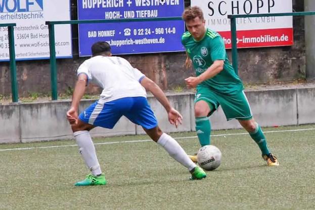 HFV gegen Hellas Troisdorf 9 - HFV 2 verliert im ersten Saisonspiel deutlich