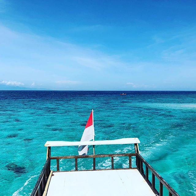 From Sumbawa to Pulau Moyo. I love Indonesia!