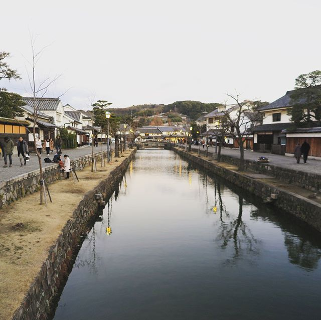 This is my home town, Kurashiki. Kurashiki is historical town in Japan.  @kurashikiden