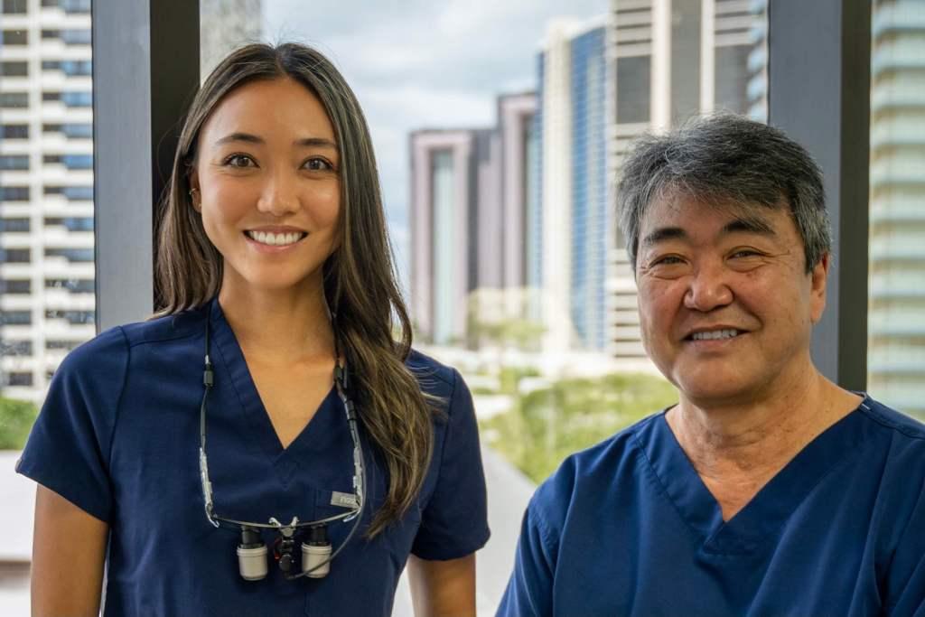 Dr. Dana Adachi and Dr. Gerald Adachi