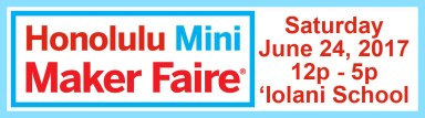Honolulu Mini Maker Faire logo