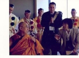 meeting with his holiness