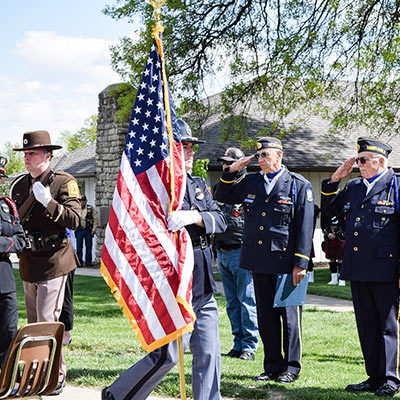 The Veterans Memorial Garden Lincoln, NE Honor Walk