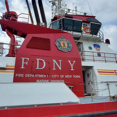 FDNY Marine 1 Connect & Honor