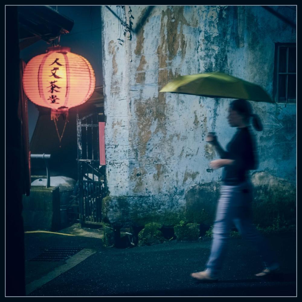 La dame au parapluie