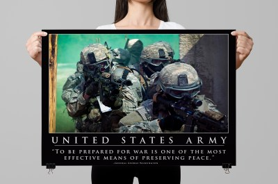 Army Motivation Posters