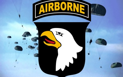 """101st Airborne Division """"Screaming Eagles"""""""
