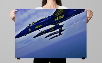 Navy Blue Angels Posters
