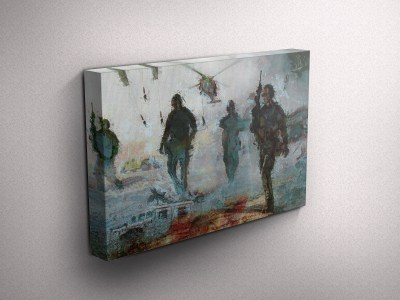Navy Seal Gallery Wrapped Canvas