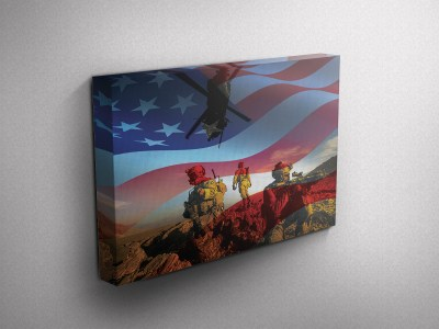 Air Force Gallery Wrapped Canvas