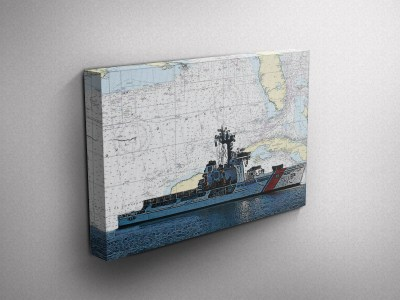 Coast Guard Gallery Wrapped Canvas