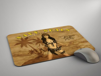 Pinup Girl Mouse Pads