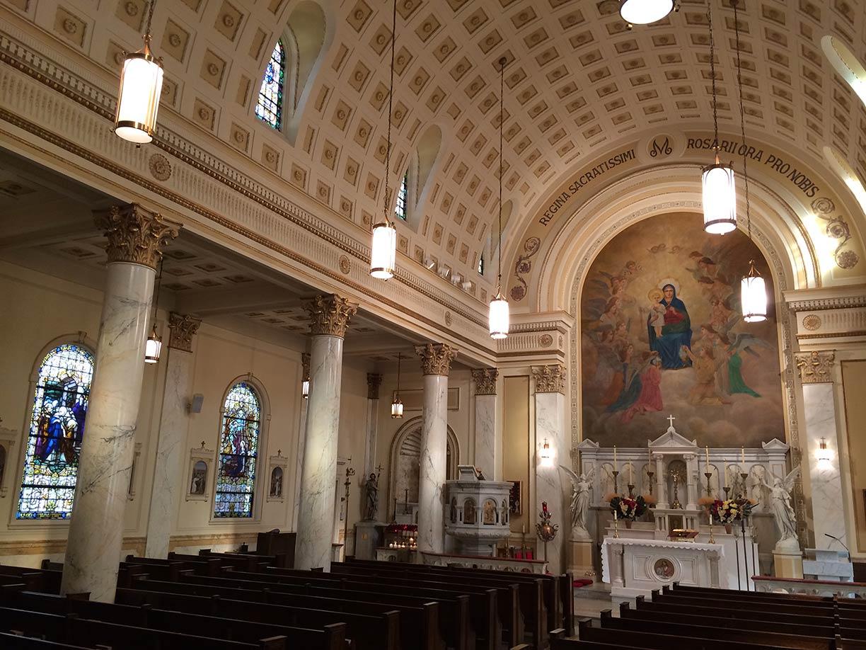 Honoring Mary Scholarship Art Amp Faith Holy Rosary Church