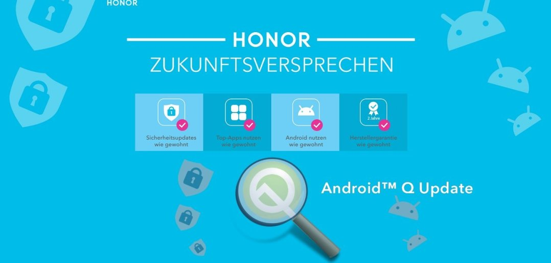 Android Q HONOR Fakten