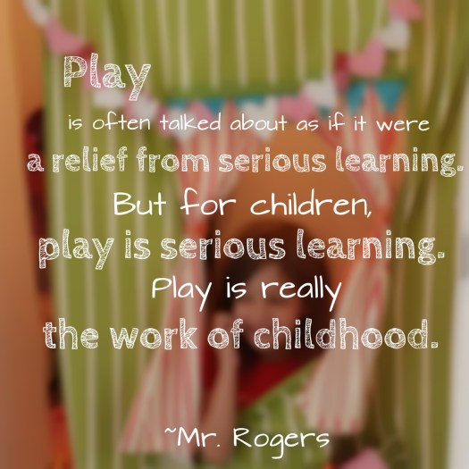 Mr Rogers Play Quote