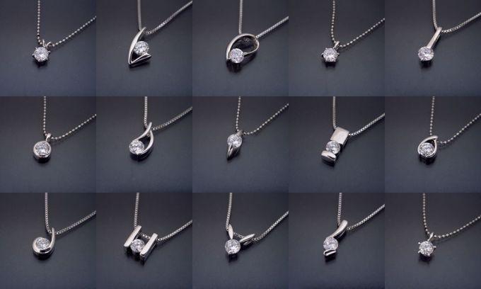 1カラットネックレスの製作