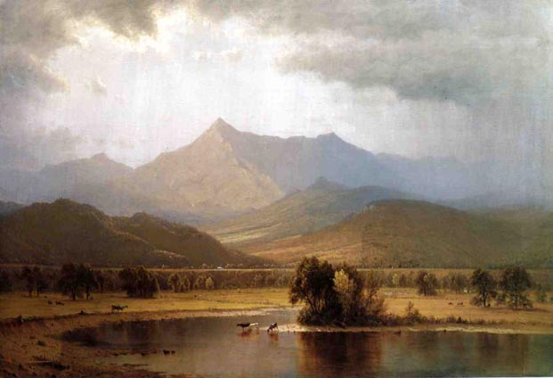 A Passing Storm in the Adirondacks: 1866