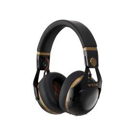 SP店:VOX VH-Q1 BK ブラック・ゴールド / ワイヤレス・ノイズキャンセリングヘッドフォン