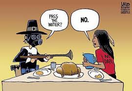 A NODAPL twist on the myth of the first Thanksgiving.